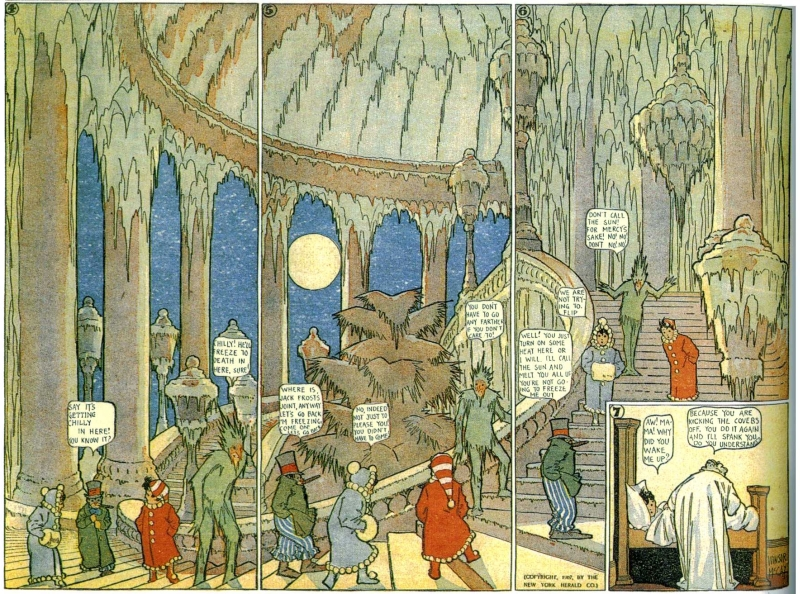 Winsor McCay, Little Nemo in Slumberland, January 27, 1907 [extrait]