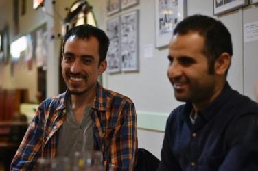 Camilo Vieco et Amad Mir