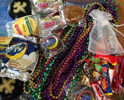 Our Haul From the Mardi Gras Parade