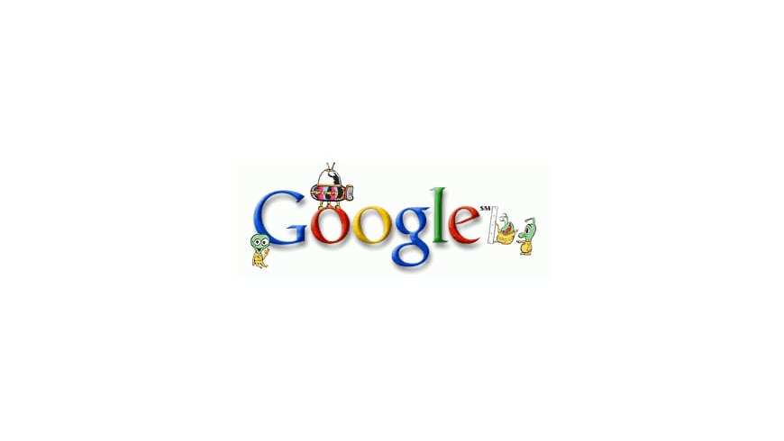 The first Google Doodles by Ian David Marsden