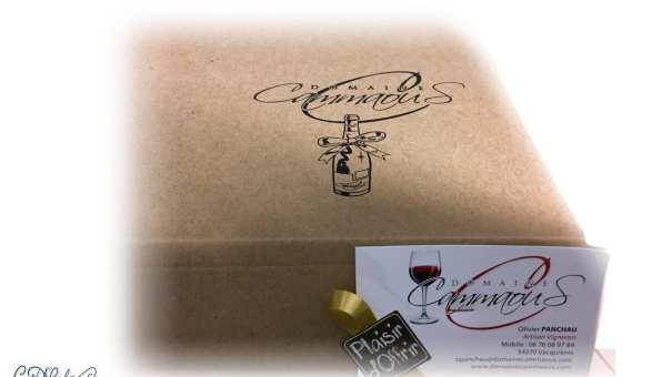 Decorative Logo For Wine Gift Boxes Ian David Marsden