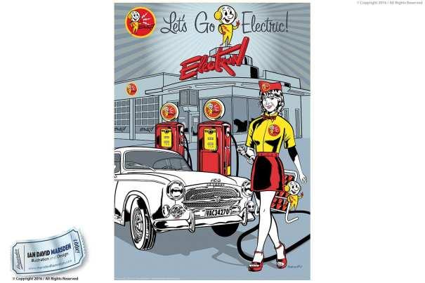 Advertising and Business Illustration Art by Ian David Marsden