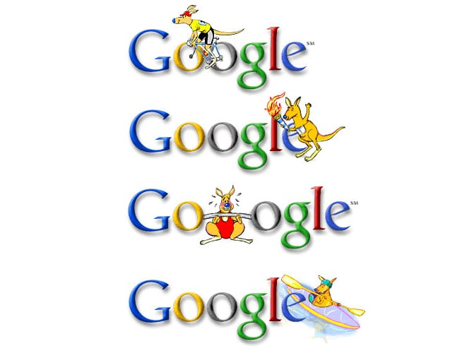 I designed the first Google Doodles. Ever. 😊 by Ian David Marsden