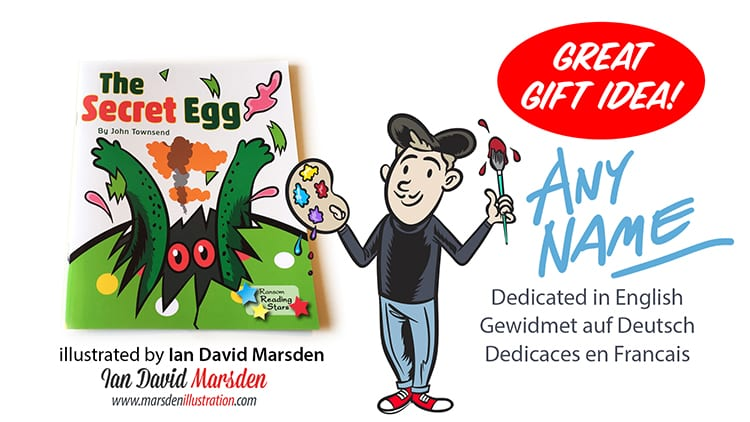 Get a signed and dedicated book to any name