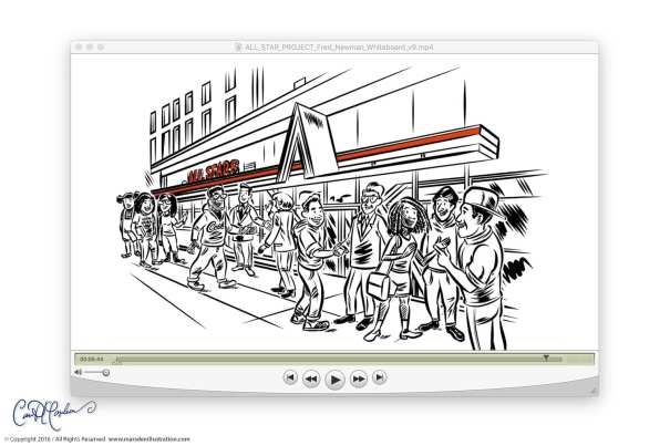 Whiteboard animation production by Ian David Marsden Illustration