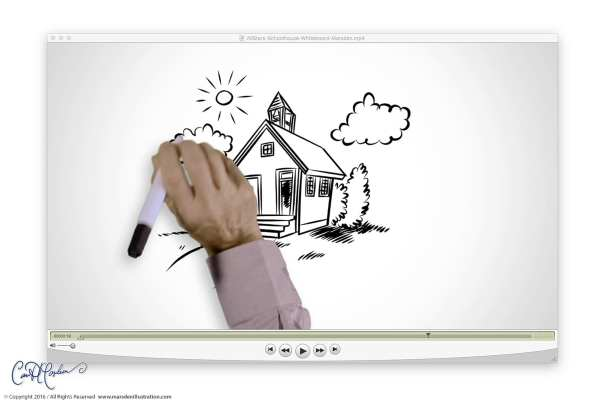 Traditional Schoolhouse - Whiteboard Video Production