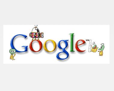 """Marsden Doodle History """"Inside Google"""" Official Google Blog - Google Doodles"""