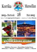 La Korrika 19 à Marseille, c'est le 28 mars 2015