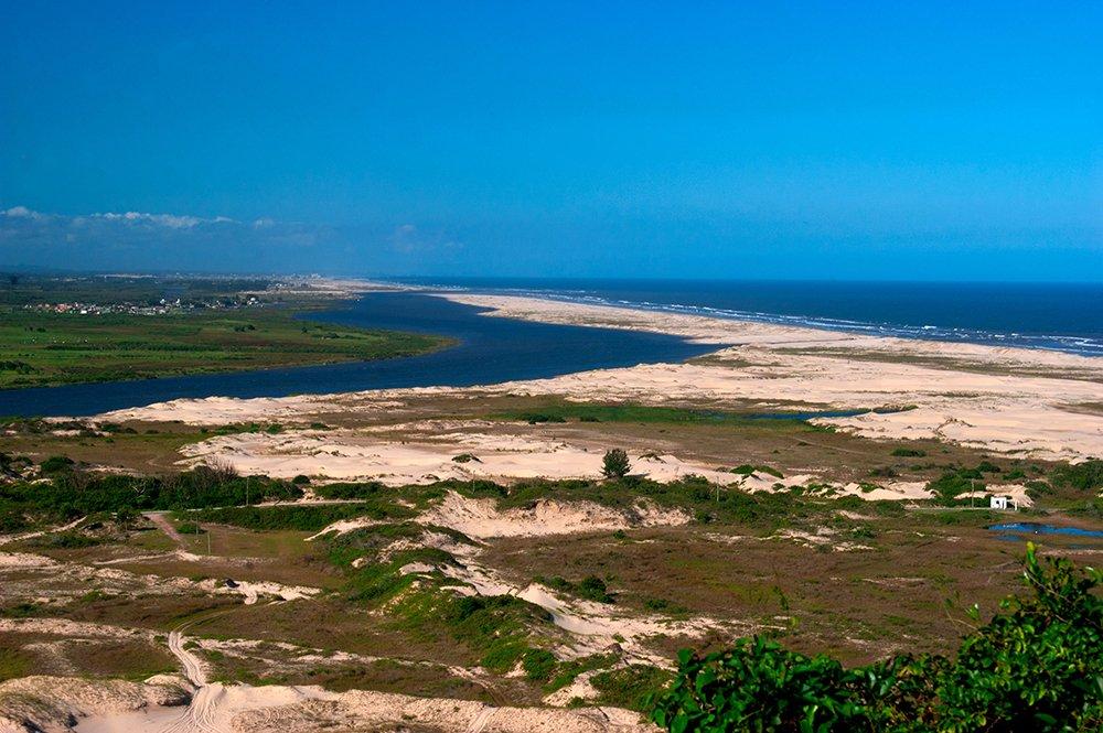 Colapso dos rios brasileiros, rio-Araranguá-sc