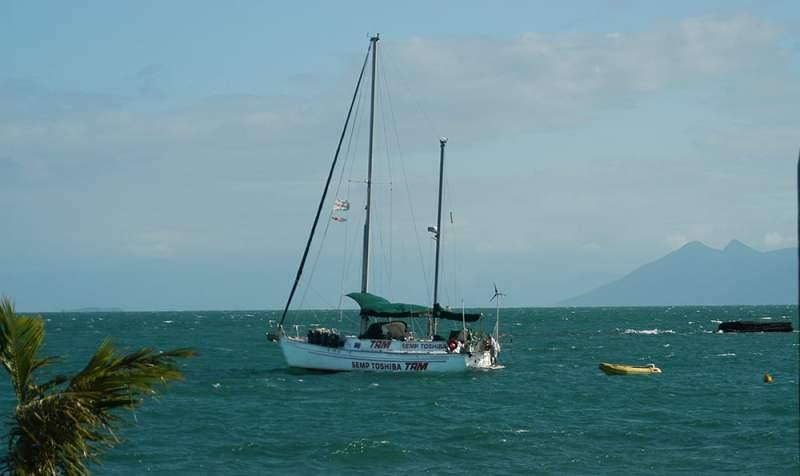 imagem do veleiro Mar Sem Fim