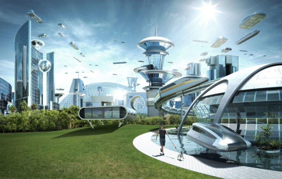 ilustração de utopia