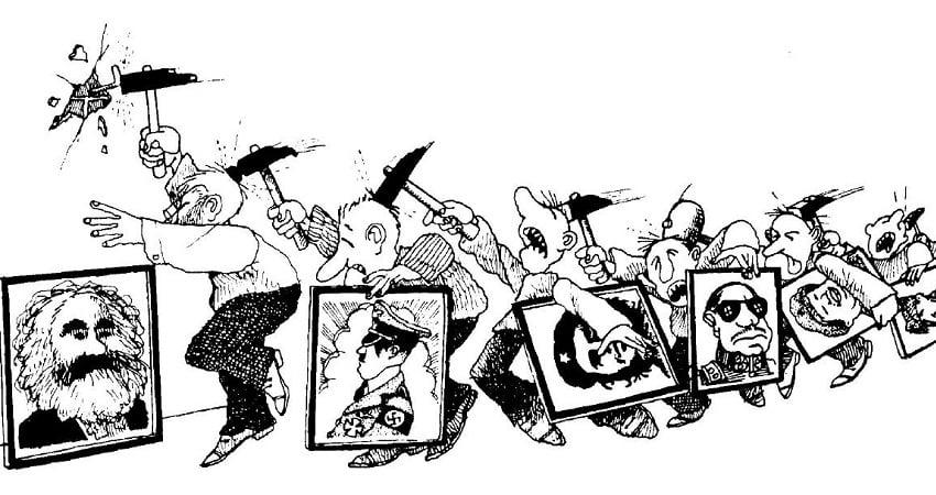 ilustração de ideologia
