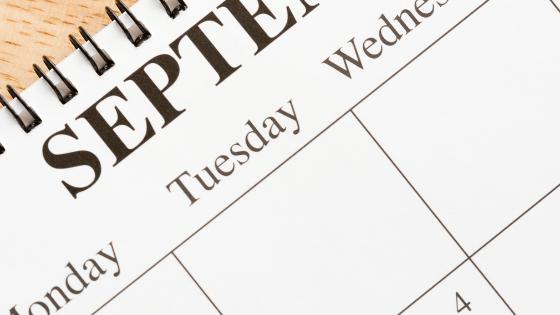 September planner