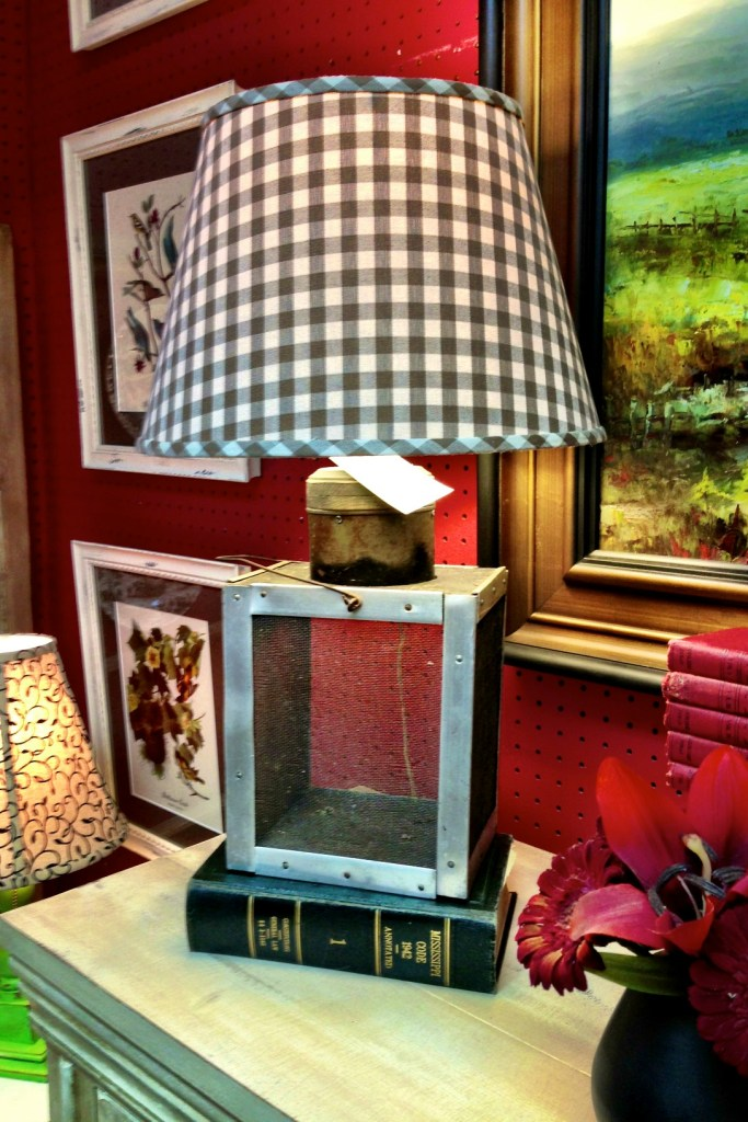 check lamp shade