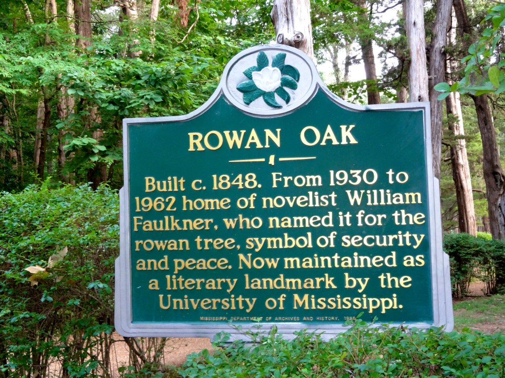 Walking Around Rowan Oak