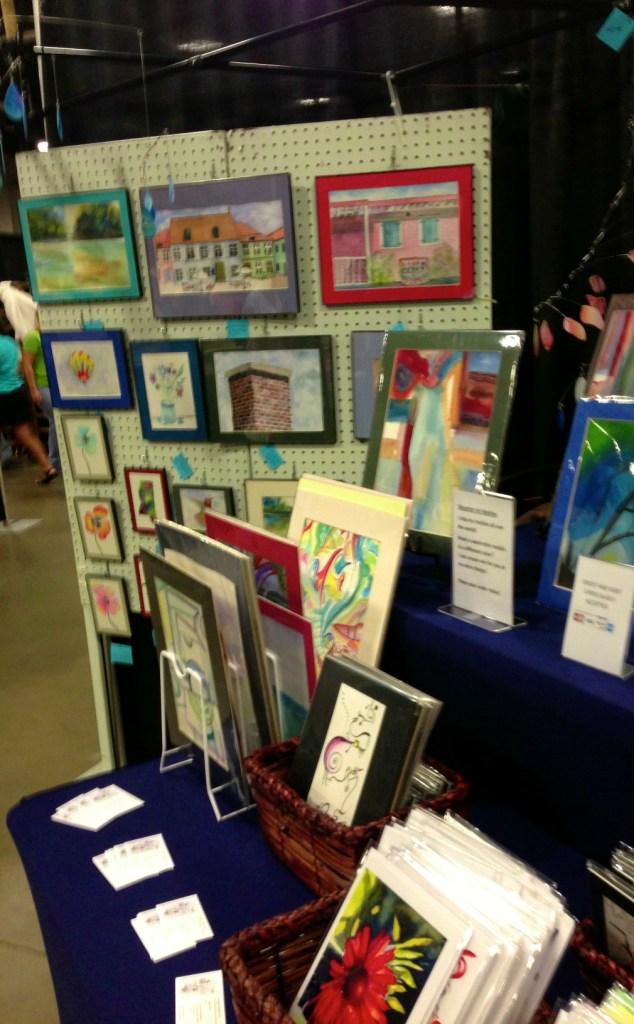 watercolor, skysetter mobiles & art