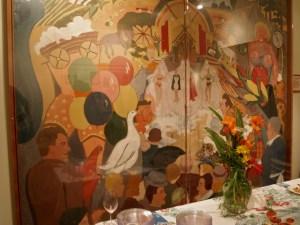 mural, state fair, Eudora Welty