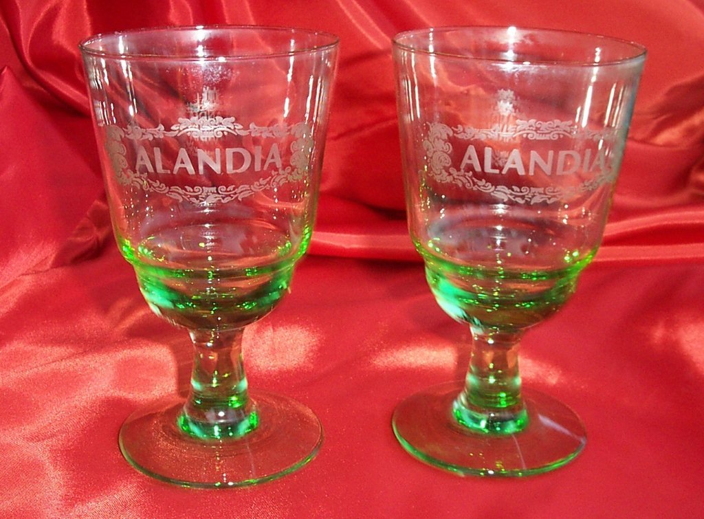 absinthe glasses