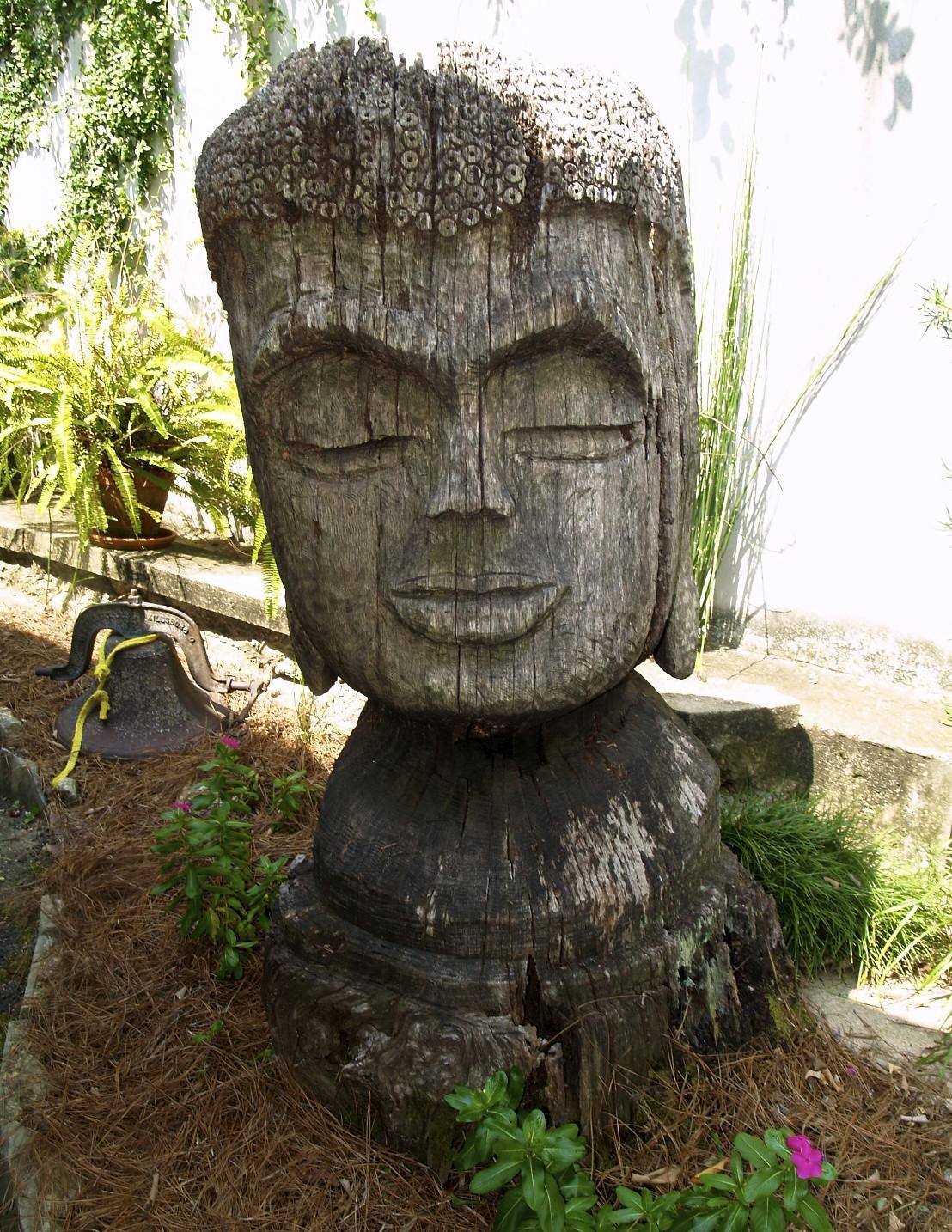 carved buddha