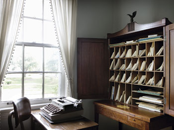 Eudora Welty plantation desk
