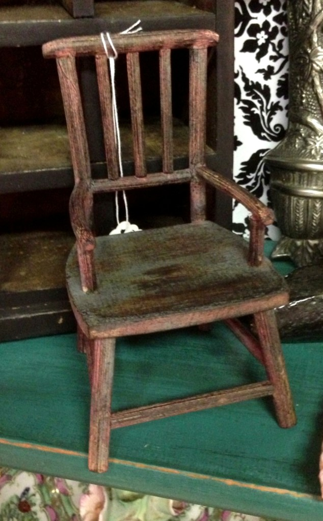 miniature chair