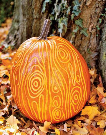 pumpkin, faux bois