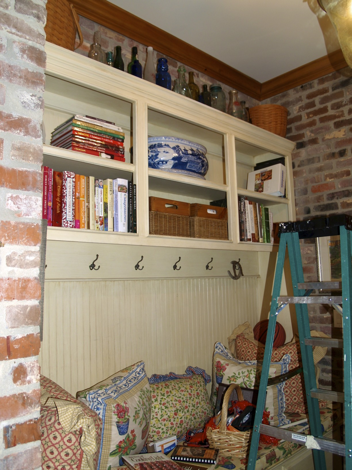 shelving for cookbooks