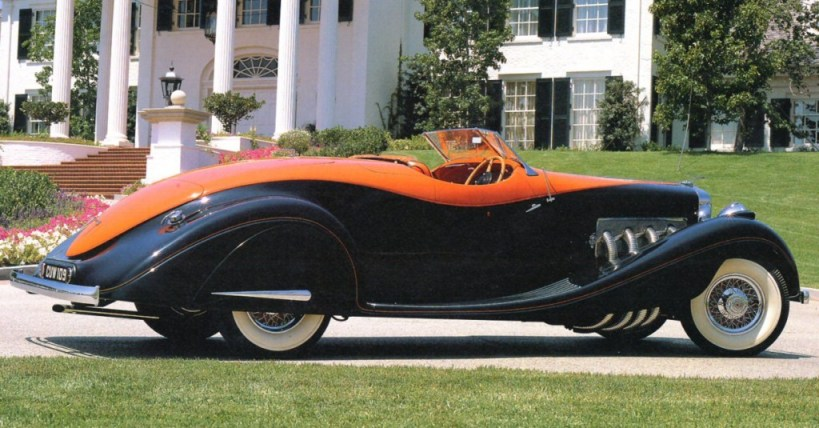 orange1932 duesenberg model j speedster