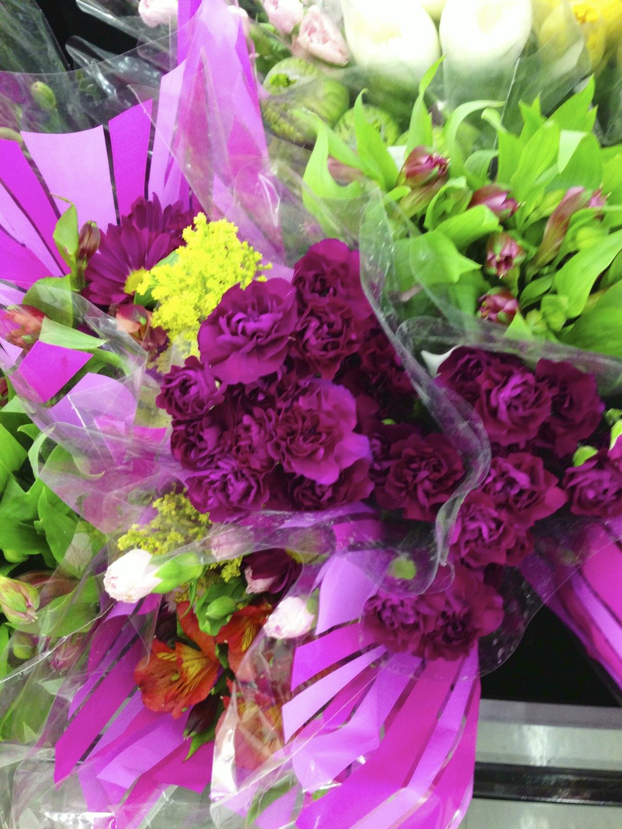 grocery store flowers