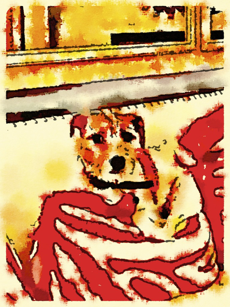 Maggie painted in waterlogue