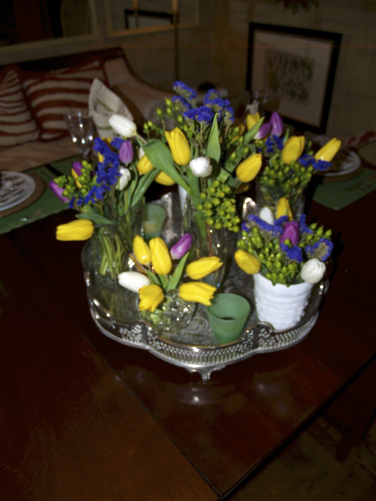flowers, tulips, flower arrangement