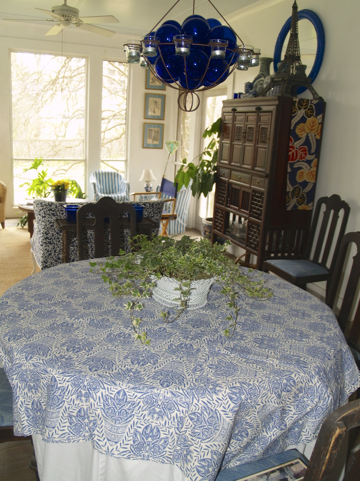 Raoul Dufy fabric tablecloth