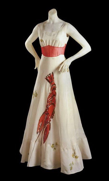 Sciaparelli Lobster dress