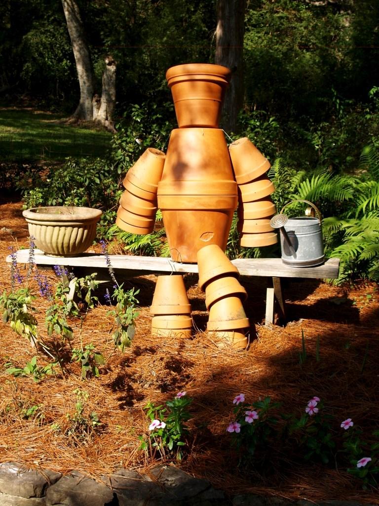 garden pot man