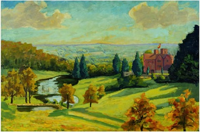churchill-paints-chartwell2