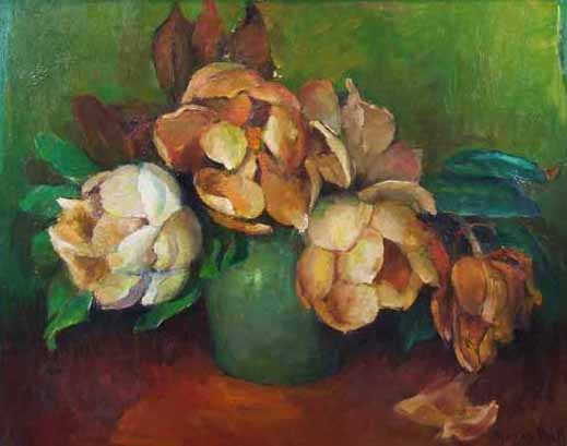 Marie Hull Wilted Magnolias