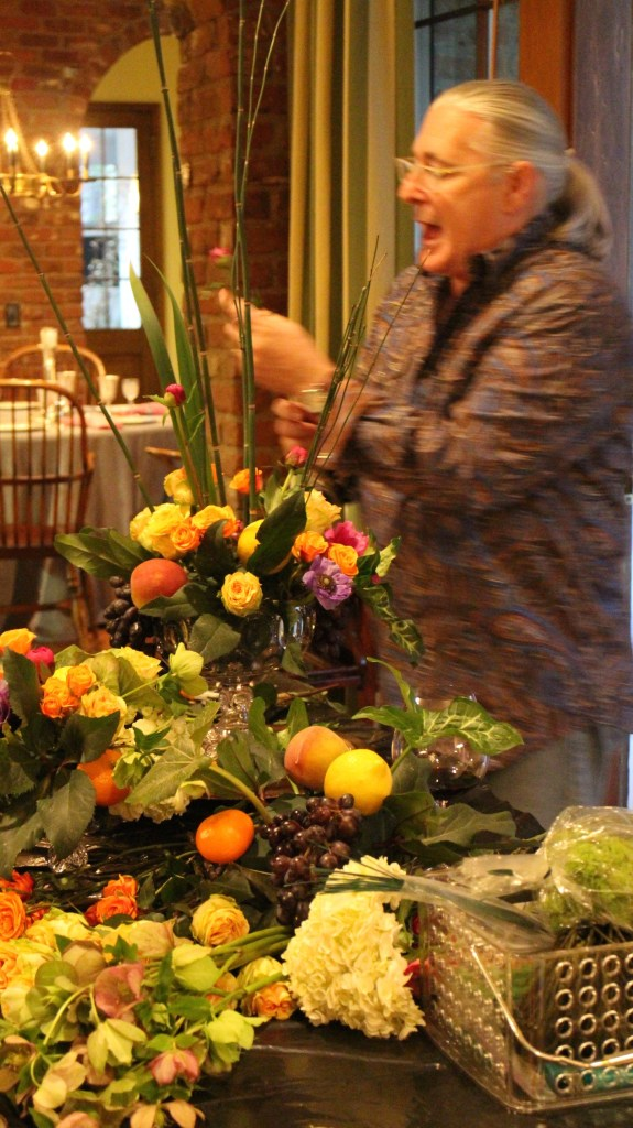 John Grady Burns flower arrangements