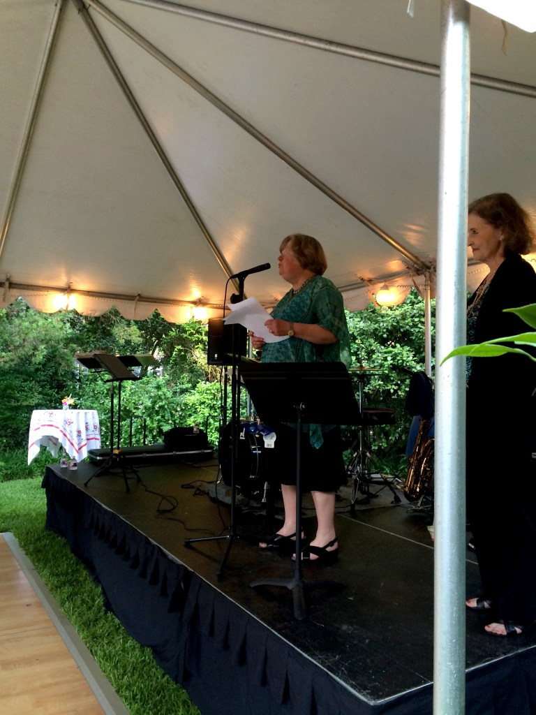 June Recital Remix in Eudora Welty's garden