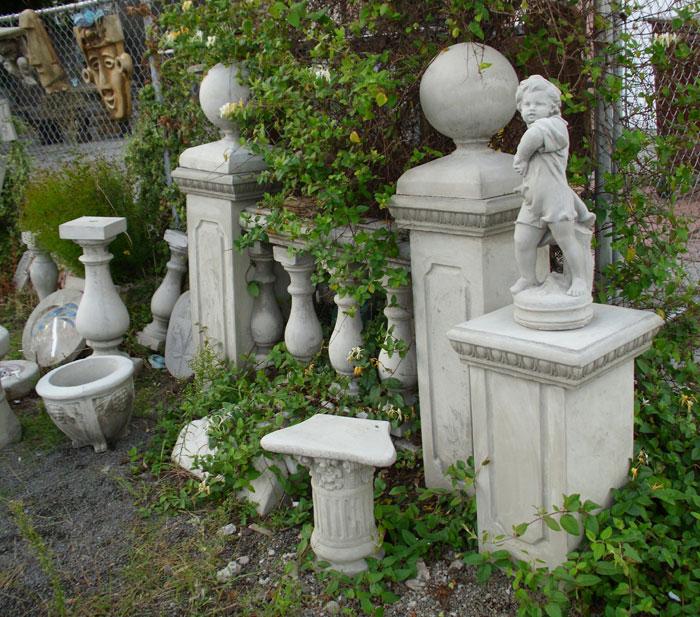 concrete garden ornaments