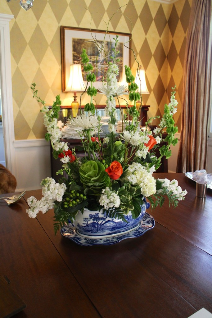 Garden Club Gathering and a House Tour