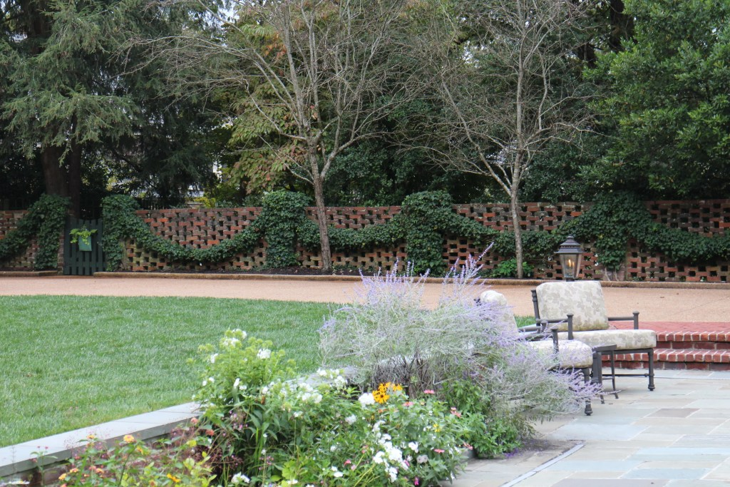 a private garden in Knoxville