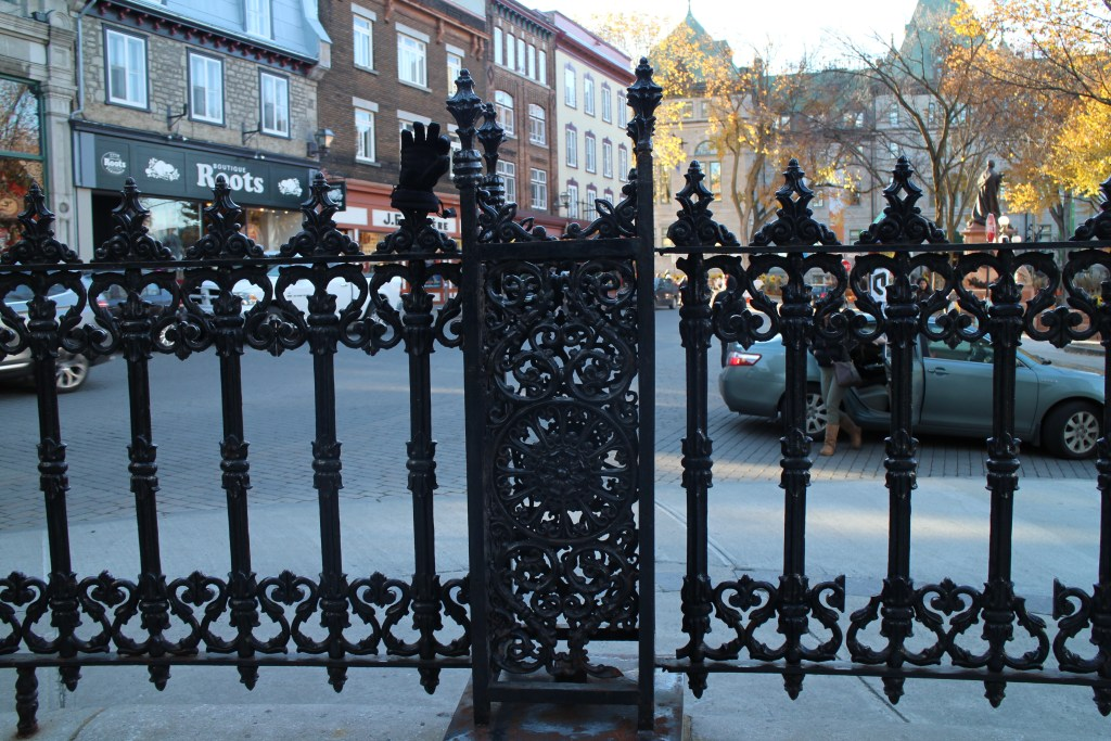 fences on Friday Montreal