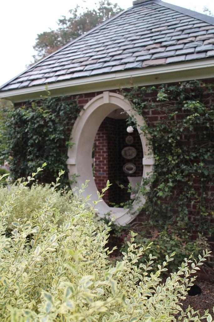 Formal garden in Knoxville