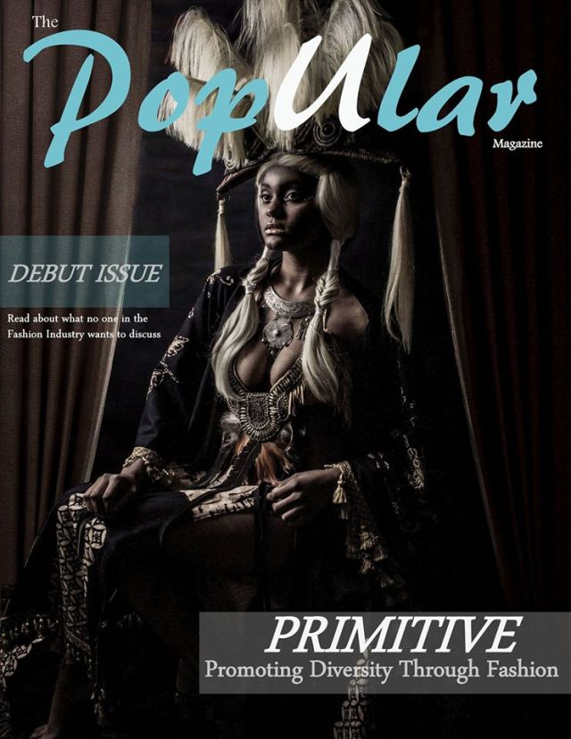 Primitive - The PopUlar Magazine debut issue - Marshall Artz Studio