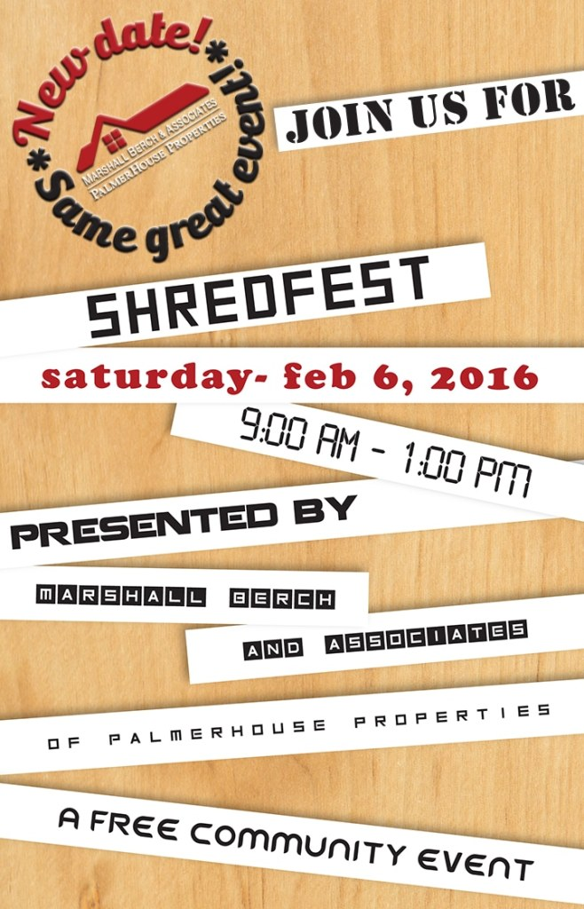 shredfest date change copy