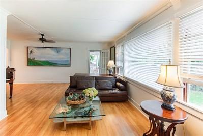 Living Room, Wailuku Bungalow Restoration