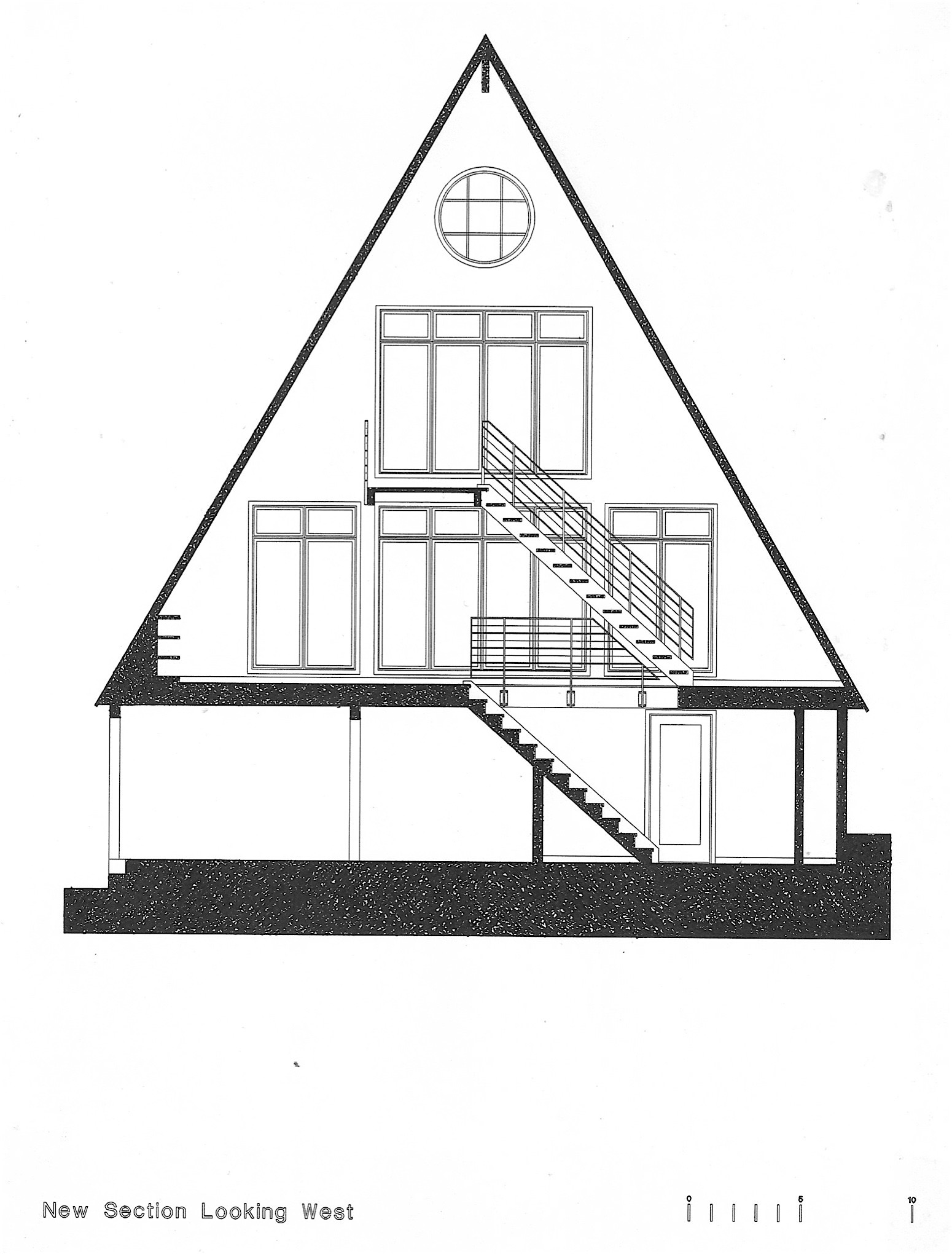 Mill Valley California Mountain House Renovation Marshall Design Staircase Diagram Classic Stairs And Remodeling New Stair