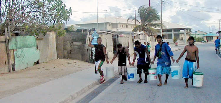 Fixing Ebeye's water system