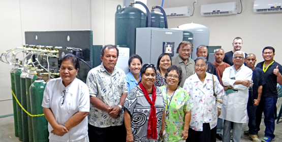 Thumbs up for new oxygen generator