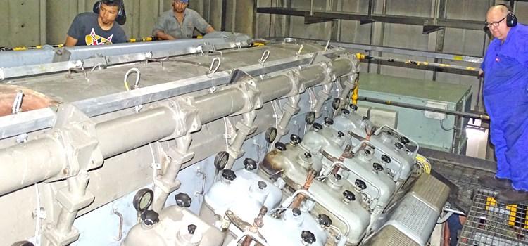 MEC completes generator overhaul